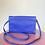 Thumbnail: Bolsa couro azul