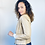 Thumbnail: Jaqueta em couro legítimo bege