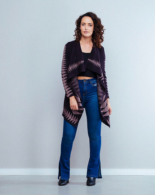 Cardigan de tricot