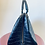 Thumbnail: Bolsa em couro texturizado preto