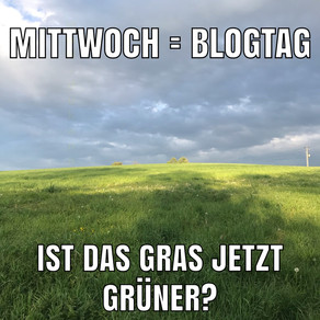 Ist das Gras jetzt grüner?