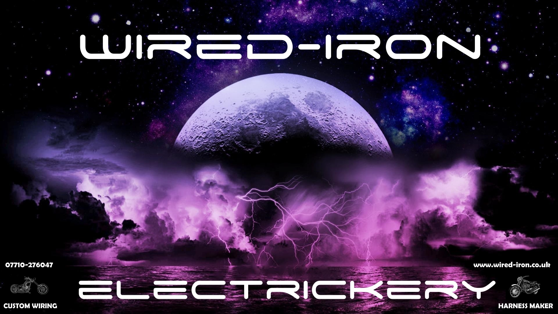 lightning and moon wired iron plus info