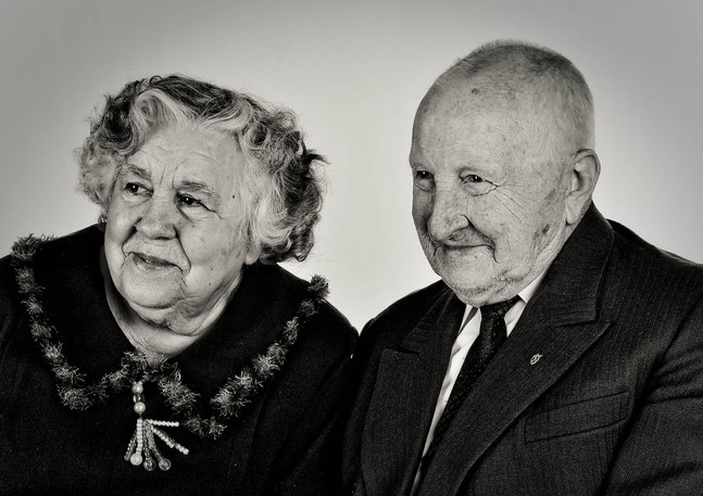 that notebook look happy old couple beautiful portrait aiva grasberga