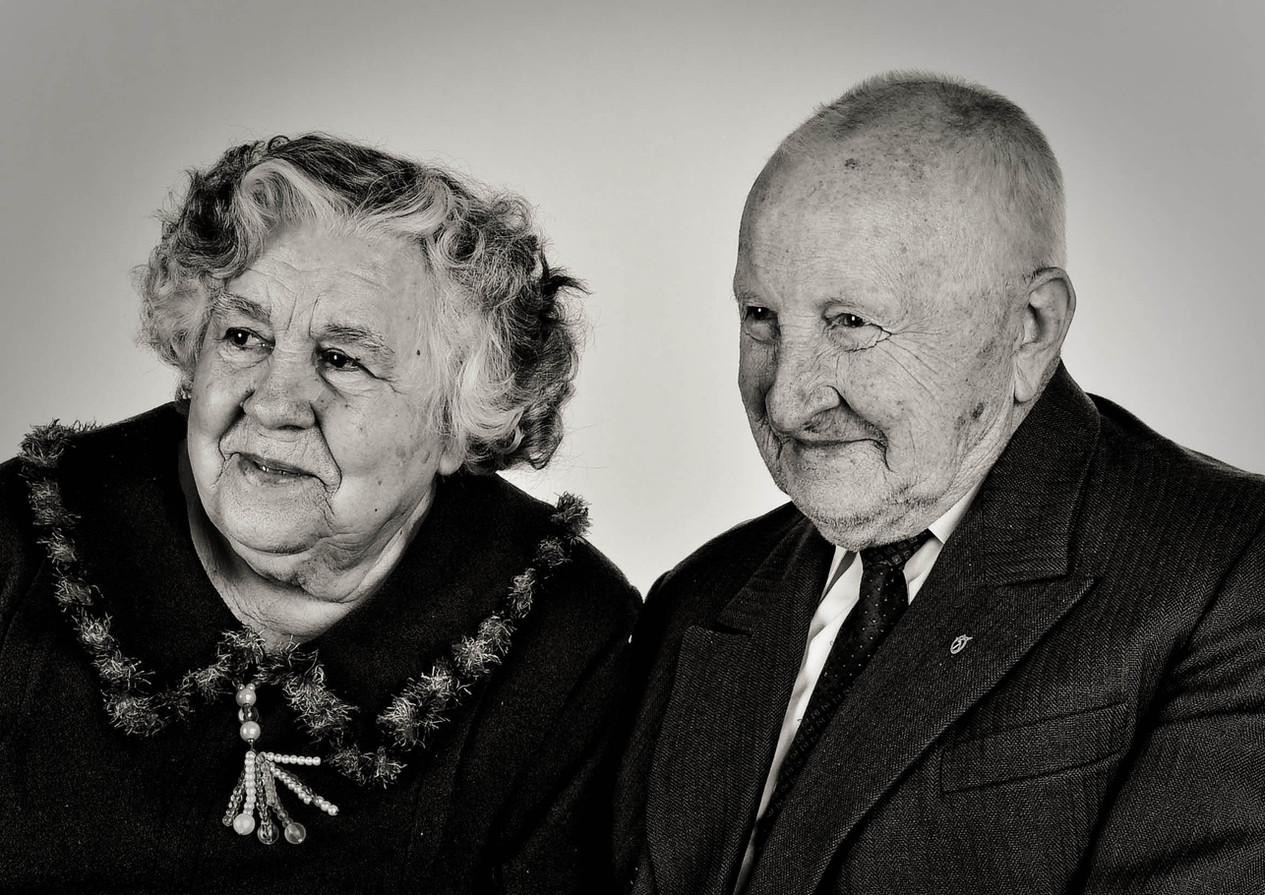 that notebook look happy old couple beautiful portrait aiva grasberga
