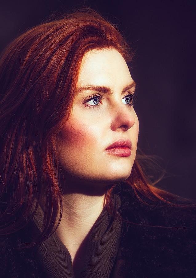 red head portrait aiva grasberga