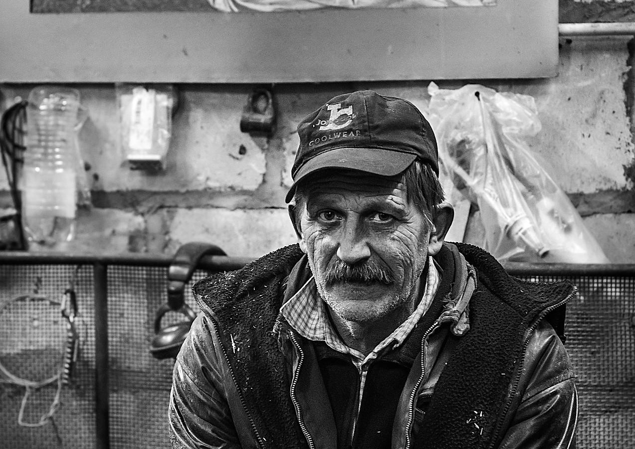 black and white portrait aiva grasberga puikule