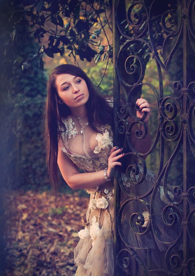 fantasy fashion image portrait