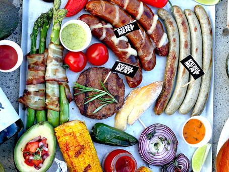 Bunte BBQ-Platte