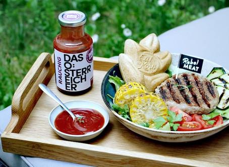 Healthy BBQ Burger-Bowl Rezept