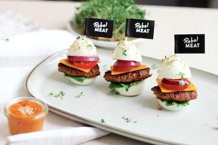 OSTER SLIDER: Mini-Burger für den Oster-Brunch
