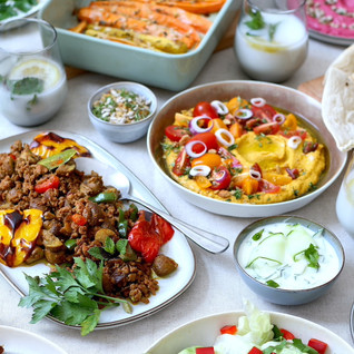 Orientalisches Festessen