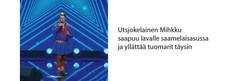 Utsjokelainen Mihkku Talent Suomi