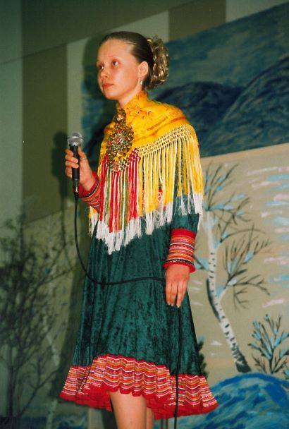 Kuvassa Iŋgá-Máret Gaup-Juuso