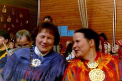 Anna-Reetta Niemelä ja Tuula-Maija Magga