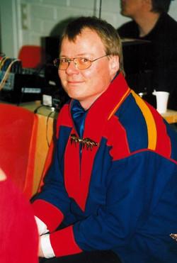 Kuvassa Sverre Porsanger