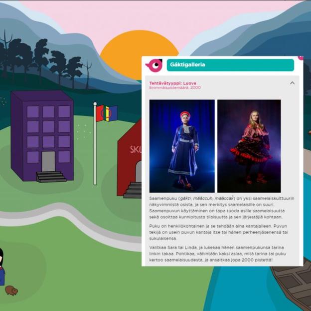 Sukella saamelaiskulttuuriin videopelin myötä!