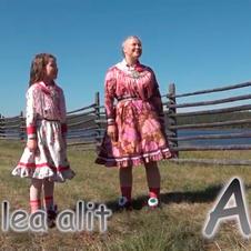 Pohjoissaamen kielen aakkosvideo