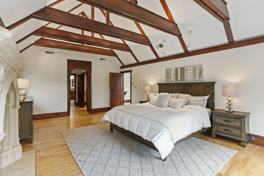 Owner's Suite with Vaulted Ceilings