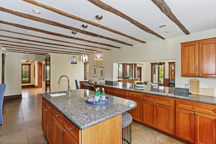 Kitchen Connects to the Family Room