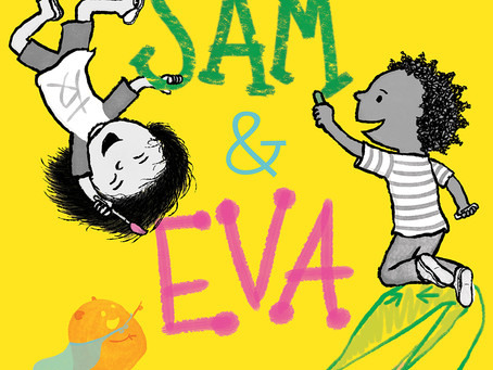 Cover Collection 22: Special Guest Interview with Debbie Ohi, Author-Illustrator of Sam & Eva!