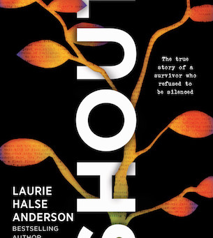 Cover Collection 14: SHOUT, Written by Laurie Halse Anderson, and designed by Jessica Jenkins