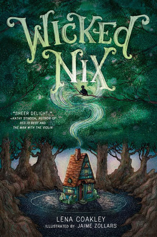 Cover of Wicked Nix, written by Lena Coakley, illustrated by Jamie Zollars