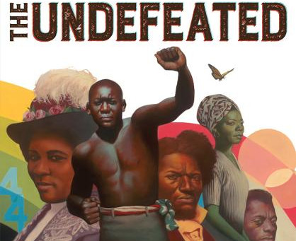 Cover Collection 13: The Undefeated, written by Kwame Alexander, illustrated by Kadir Nelson, design