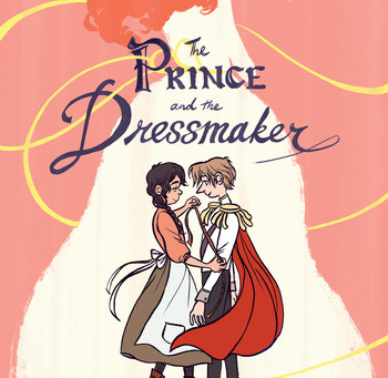 Cover Collection 29: The Prince and the Dressmaker, written and illustrated by Jen Wang, designed by