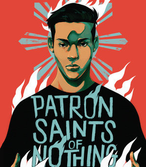 Cover Collection 16: Patron Saints of Nothing, by Randy Ribay, designed by Dana Li, with art by Jor-