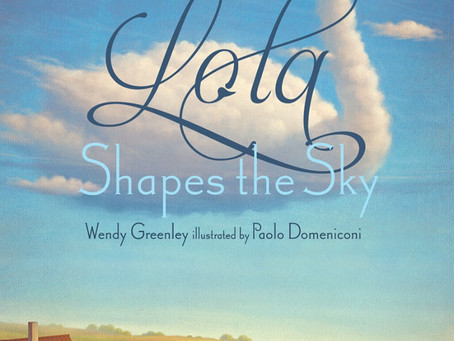 Cover Collection 18: Lola Shapes the Sky, by Wendy Greenley, Illustrated by Paolo Domeniconi, Design