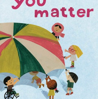 Cover Collection 28: You Matter, by Christian Robinson, designed by Sonia Chaghatzbanian