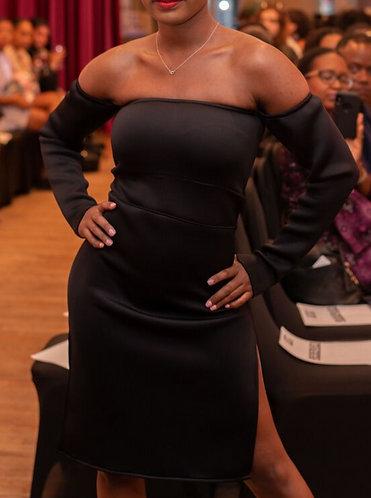 Black Havana Nights Dress