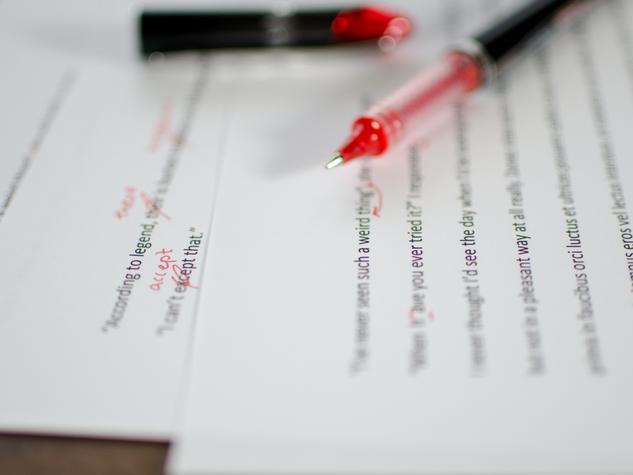 Proofread & Copy Edit