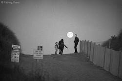 Moonrise at Curracloe