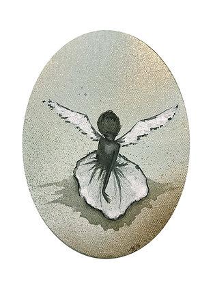 "Card ""Snow Angel I"""