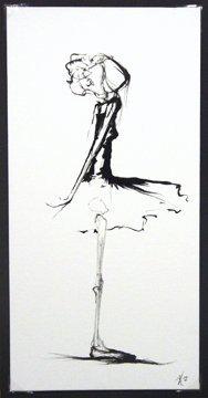 """Card """"Ballerina II"""""""