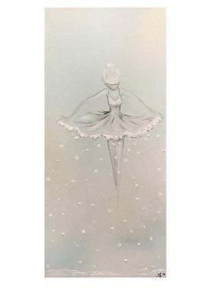 "Card ""Snow Dancer"""