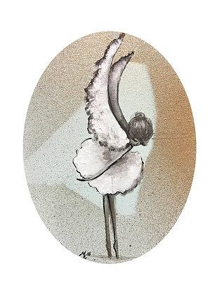 "Card ""Snow Angel II"""