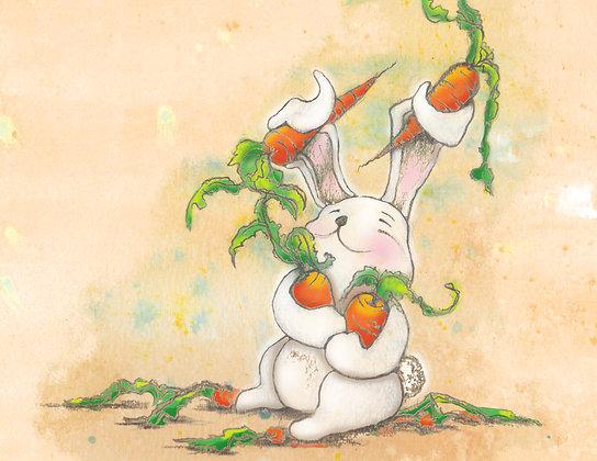 """Card """"Bunny"""""""