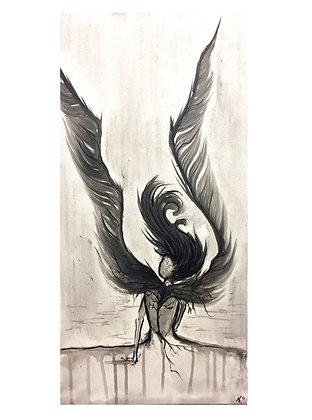 """Card """"Wings"""""""