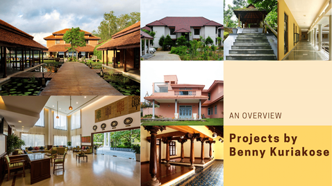 The video highlights some of the projects by Benny Kuriakose. In the video, he speaks about his choice of materials and keen interest in vernacular architecture.