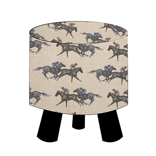 Race Horse Footstool