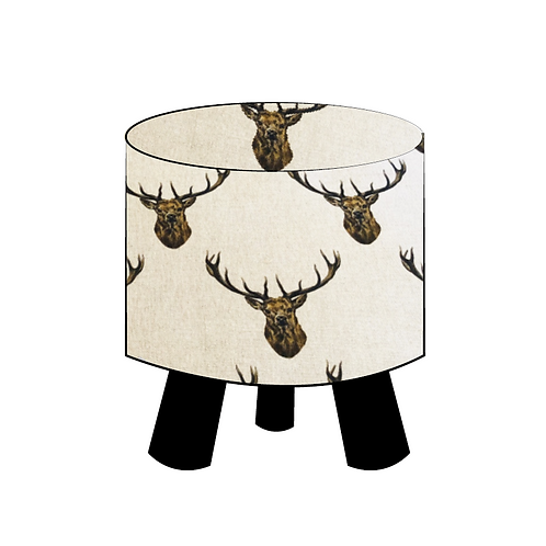 Trophy Stag Footstool