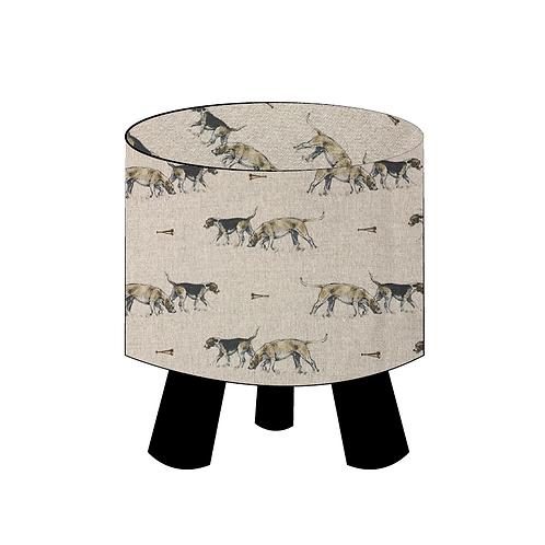 Hound Footstool