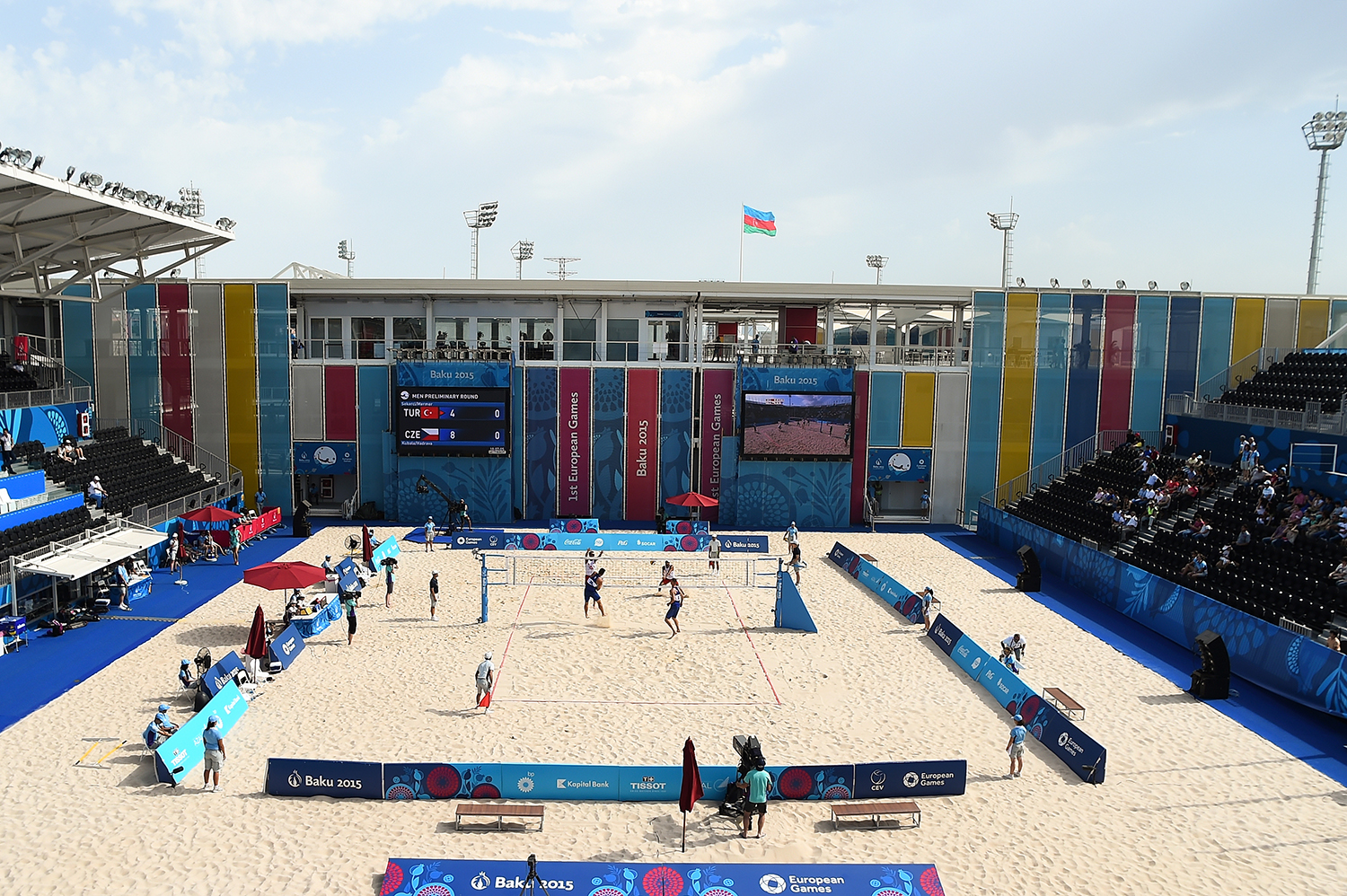 Baku 2015 Beach Volleyball