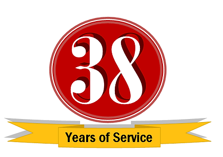 Celebrating 38 Years of Service