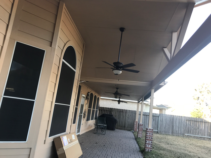 Close Up of Patio Installation