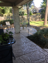 Patio Installation & Stamp Concrete Installation