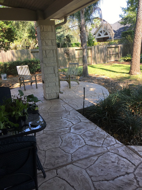 Patio Installation & Stamp Concrete Installation