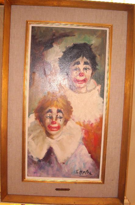 Clown Art Painting